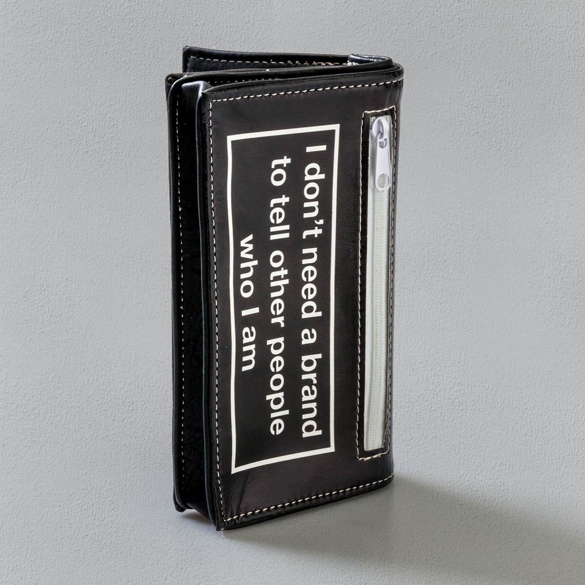 Porta Tabacco Nero Dritto